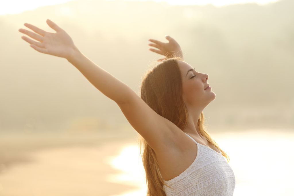 The health benefits of correct deep breathing